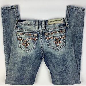 Rock Revival Skinny Jeans Sherry 26 E8
